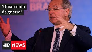 Novo auxílio 'travaria orçamento', diz Guedes; Bolsonaro diz que teto de gastos é âncora