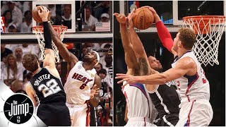 LeBron James, Blake Griffin and the best blocked dunks in NBA history | The Jump