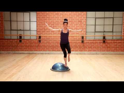 Official BOSU Single Leg Balance
