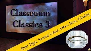 Ride Tiger   Sweep Lotus   Draw Bow   Closing Of Tai Chi