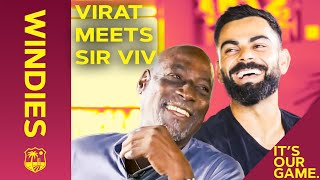 When Virat Met Sir Viv | Kohli Interviews West Indies Legend Sir Viv Richards | Windies