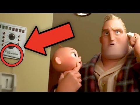 INCREDIBLES 2 Trailer Breakdown - Details You Missed! (Screenslaver Explained!)