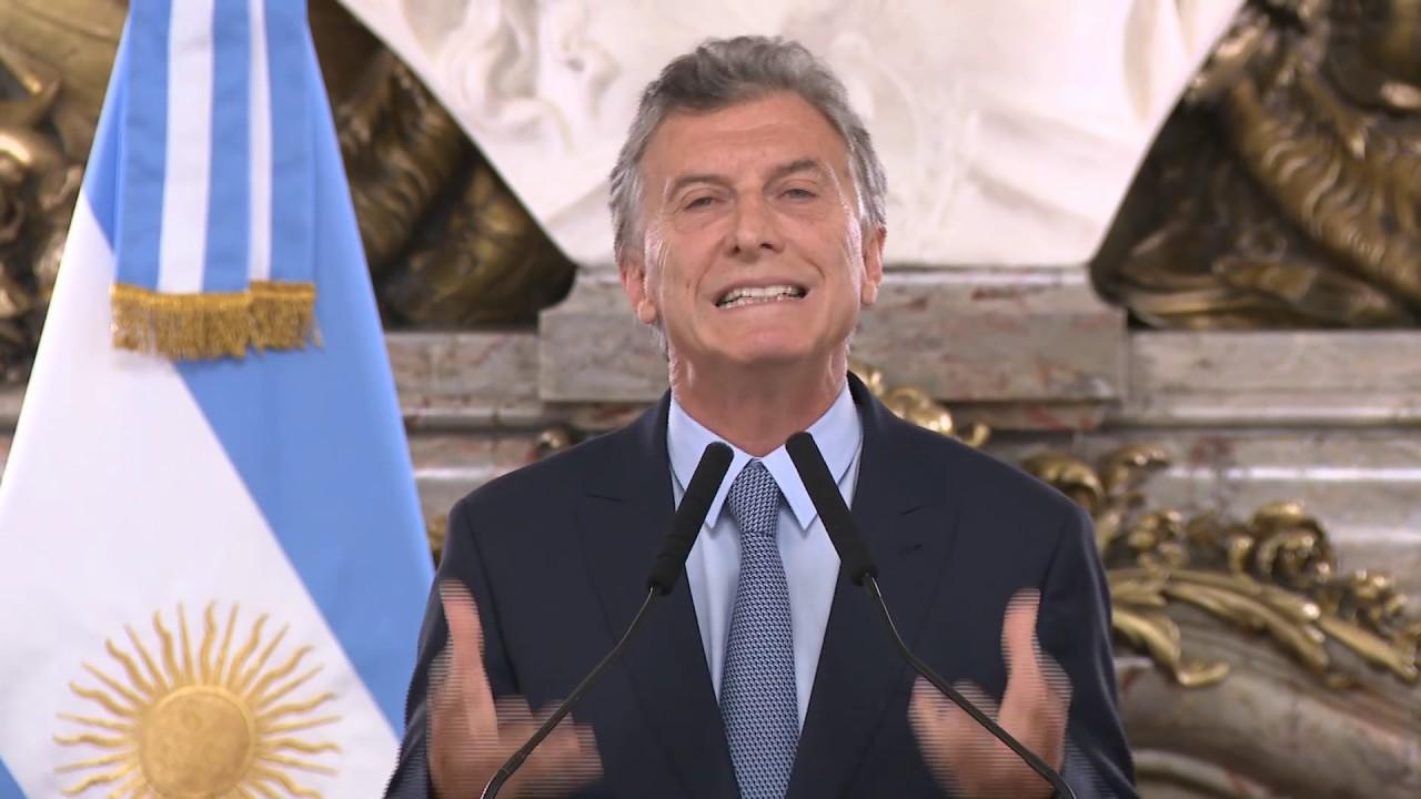 """Mauricio Macri: """"Los criminales tienen que devolver lo que se roban"""""""