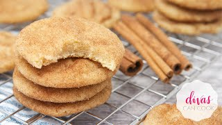 Chewy Snickerdoodle Cookies| The Bomb Diggity Kind
