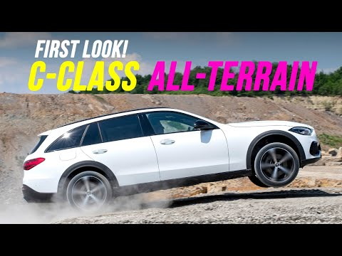 first ever Mercedes C-Class All-Terrain crossover estate PREVIEW