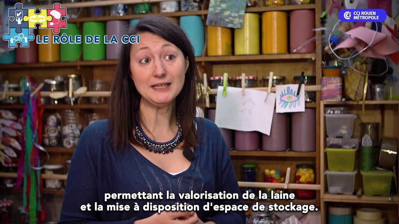 CCI Rouen Métropole - SYNERGIE - Laine