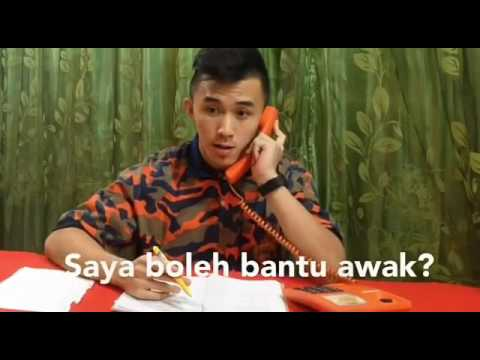 Parodi Pickupline Drama Abang Bomba I Love You Mp3