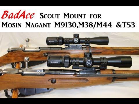 Mosin Nagant NDT Scout Mount Gen 2 - for Long Eye Relief