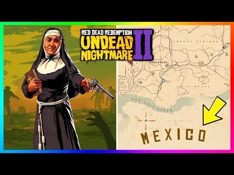Red Dead Redemption 2 Undead Nightmare - NEW DETAILS! Glowing Green Blood Found On Zombies & MORE!