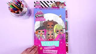 LOL Surprise Flawless Fashion Sketchbook