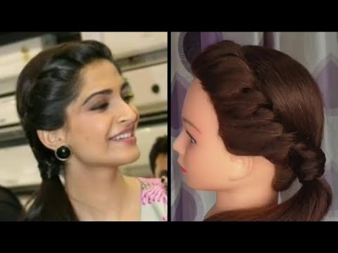 Easy Side Puff Hairstyle Inspired By Aditi Bhatiya Everyday