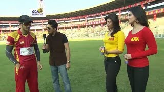 Akhil, Sunny Leone And Archana At Karbonn Kamaal Catch CCL