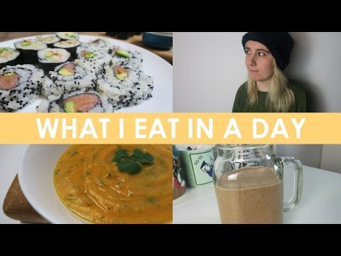 Video What I Eat In A Day (Gluten Free, Dairy Free, Sugar Free) - Healthy Jan Recipes! #1