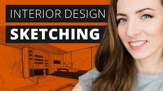 Interior Design Sketching - Complete Guide For Beginners And Pros In 2020