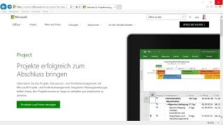 Project Online mit Office 365 einsetzen