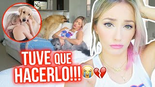 ABANDONÉ A MIS PERRITOS? 💔 |18 Jun 2020