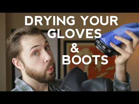 Drying Wetsuit Boots and Gloves | Quick Scuba Tips