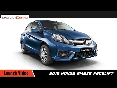 2016 Honda Amaze | Launch Video