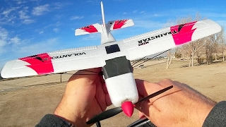 Volantex V761 Beginners Stabilized RC Trainer Airplane Flight Test Review