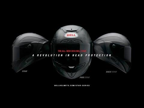 81c7a82e AOMC.mx: 2018 Bell Pro Star Tracer Helmet (Black/Silver)