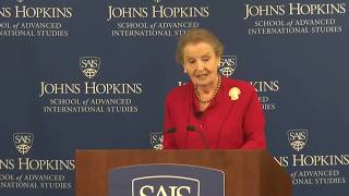 The Legacy of Zbigniew Brzezinski: Remarks by Madeleine Albright