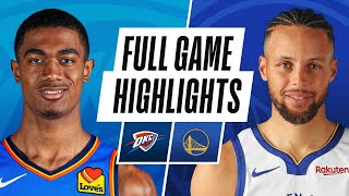 THUNDER at WARRIORS | FULL GAME HIGHLIGHTS | May 6, 2021