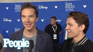 Benedict Cumberbatch Once Ignored Tom Holland After Mistaking Him For A Fan | People NOW | People