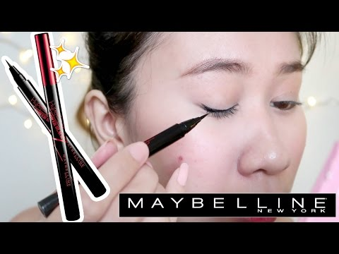Maybelline Hypersharp Liquid liner REVIEW! (Di pantay, SORRY nemen! LOL)