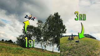 DJI FPV FOOTAGE | DUAL CAM | 1st and 3rd person view