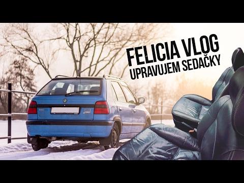 Felicia Vlog 001 | Upravujem sedačky [CZ/1080p/60FPS]