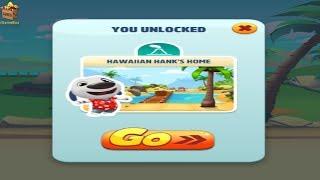 TOM GOLD RUN HD FULLSCREEN^Neon Angela Home Built-UNLOCKED Hawaiian Hank Home*GAMEPLAY FOR KID #111