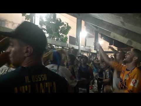 """""""Atlanta vs uai urquiza. Previa y entrada de la banda"""" Barra: La Banda de Villa Crespo • Club: Atlanta"""