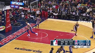 1st Quarter, One Box Video: Washington Wizards vs. Detroit Pistons