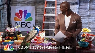 Terry Crews Wishes the Peacock Would Eat Healthier - NBC