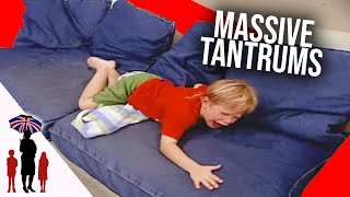 Mom Tries To Discipline Violent 4 Yr Old That Rules The Roost | Supernanny