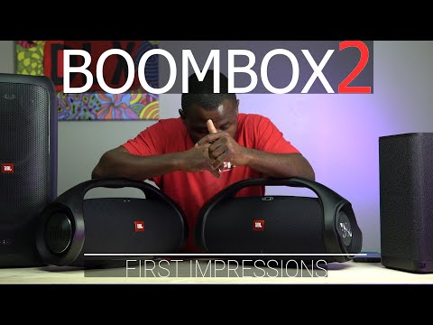 External Review Video VE-XRDZHtwg for JBL Boombox 2 Wireless Speaker