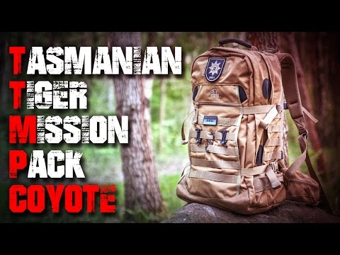 TT Tasmanian Tiger Mission Pack Rucksack Coyote – Review Test Outdoortest EDC (Deutsch/German)