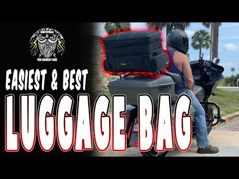 Motorcycle Luggage Rack Bag Simple Strapless Quick Attach Accessories Large Big Heavy Duty Rigid