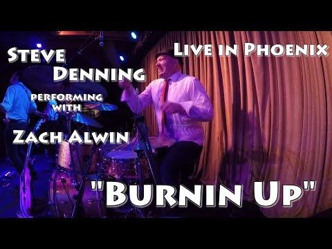 Steve Denning Drum Cam - Live In Phoenix - Burnin Up