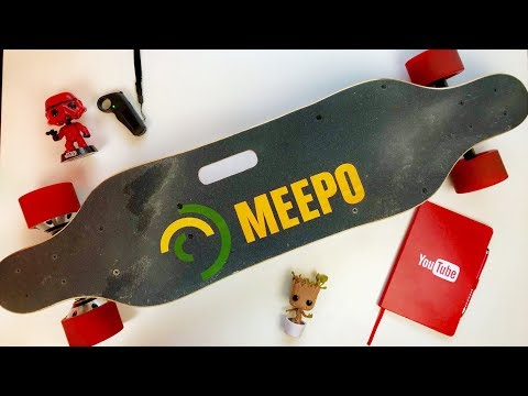BEST Budget Electric Skateboard?! — Meepo Board Review