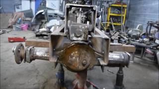 Самодельный минитрактор с двигателем ОКА.Компоновка.Размещение агрегатов