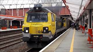 Crewe (Including Wigan) 16th September 2017