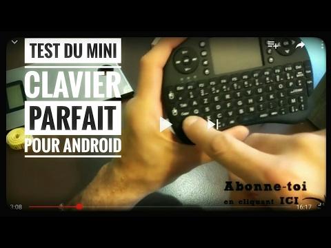 Test du mini clavier RII i8