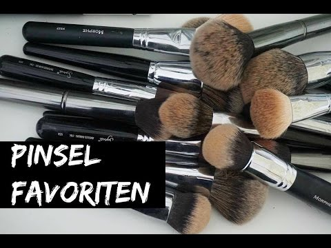 PINSEL FAVORITEN | MAC | MORPHE BRUSHES | ARTIS | ZOEVA | ABH