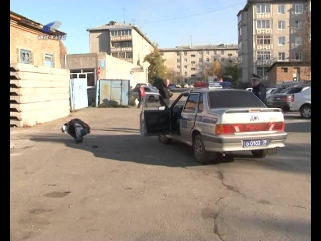 Грабителя задержал пенсионер МВД
