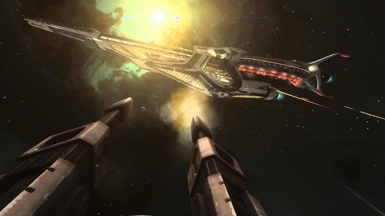 Elite: Dangerous - Capital Ship Battle Video