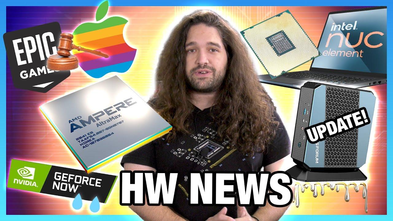 HW News - Minisforum Responds to GN Review, Intel Z690 Leaks, Hardware-Level Bans