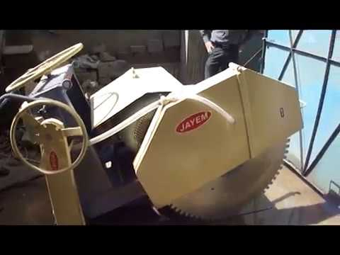 Concrete and Asphalt Road Cutting Machines