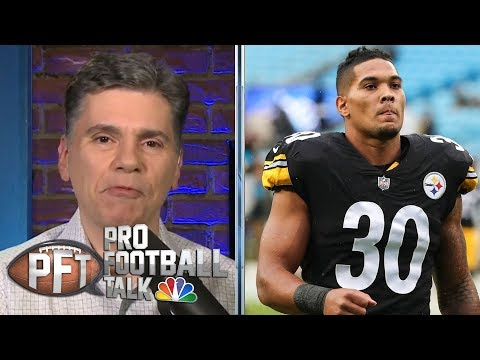 Pittsburgh Steelers and James Conner moving past Brown-Bell drama | Pro Football Talk | NBC Sports