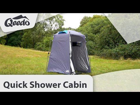 Qeedo Quick Shower Cabin Duschzelt / mobile Umkleidekabine